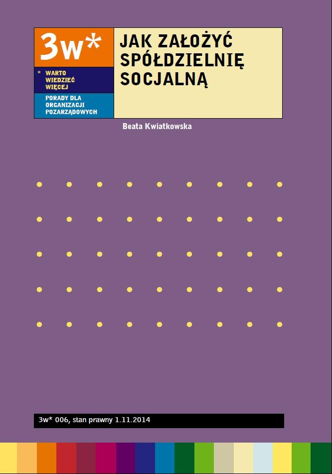 Jak założyć spółdzielnię socjalną