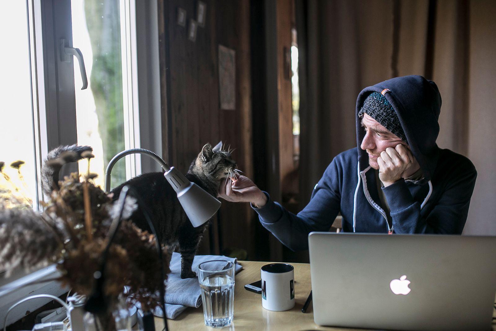 Tomasso i kot Jesień
