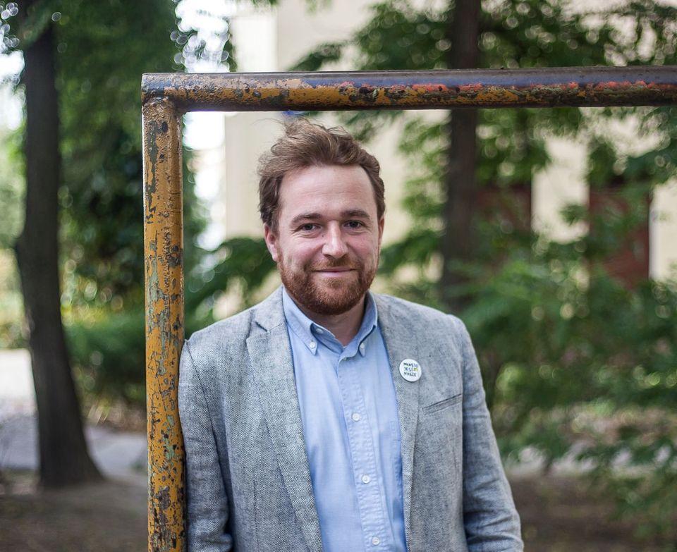 Jan Mencwel, aktywista, publicysta, prezes Miasto Jest Nasze