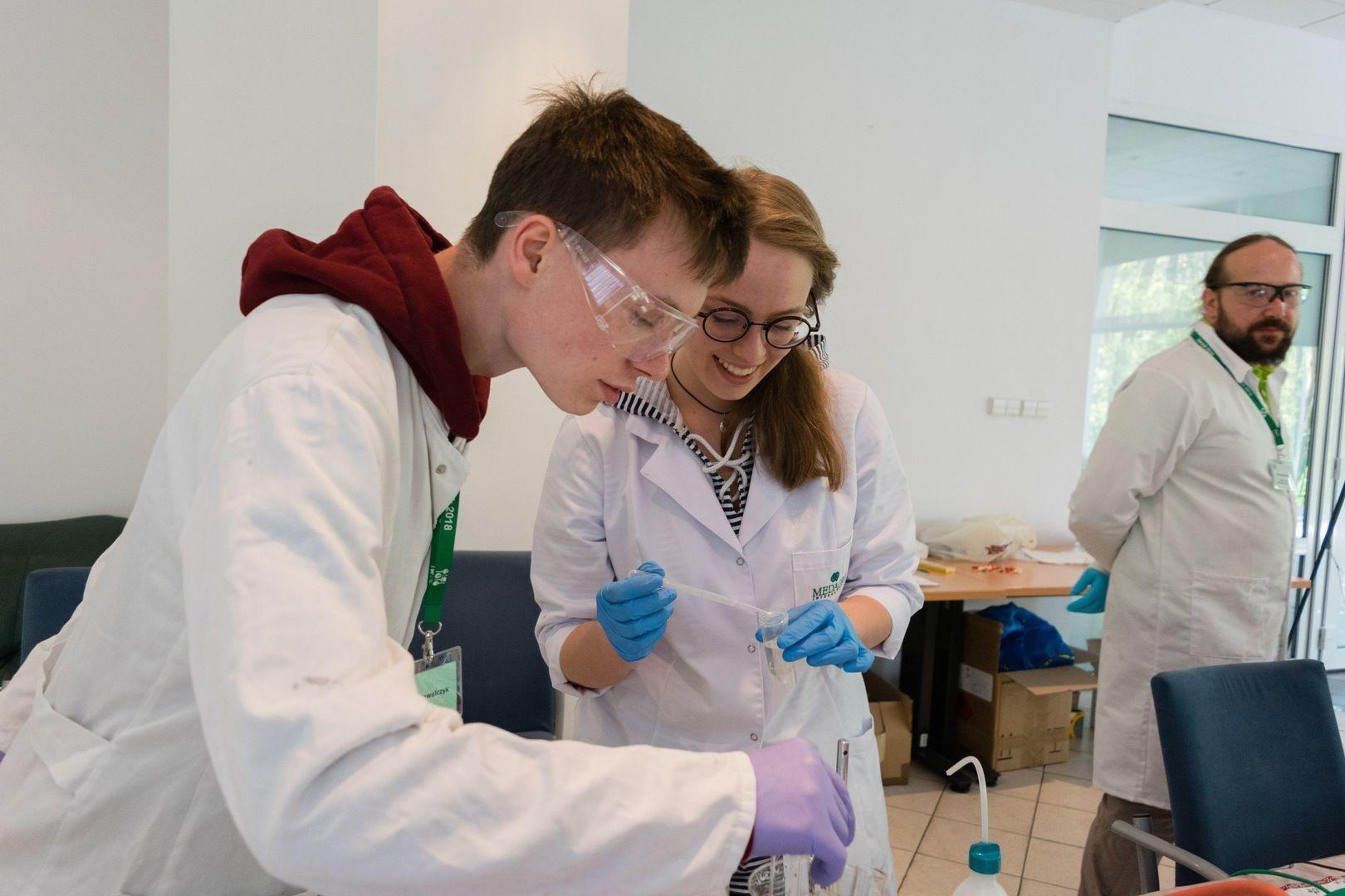 Obóz naukowy KFnrD - Serock 2018