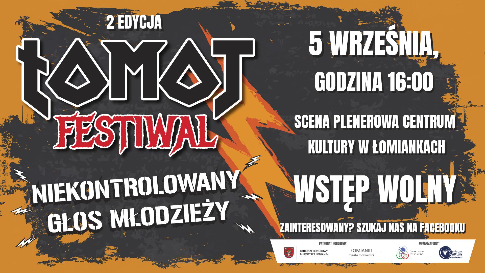 Festiwal ŁOMOT. Inicjatywa główna SMŁ