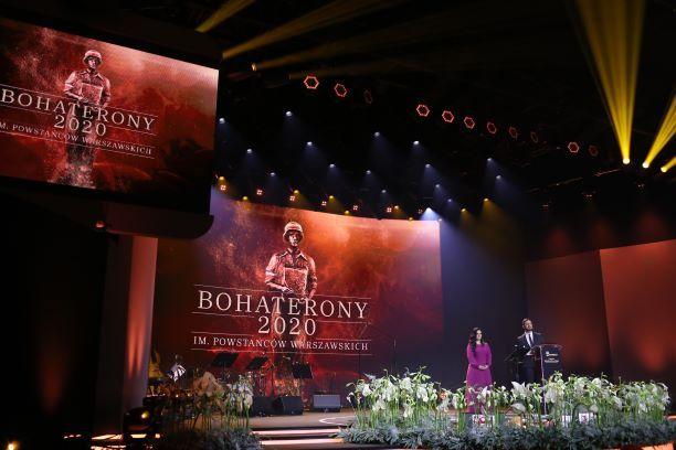 Gala Nagrody BohaterONy 2020 im. Powstańców Warszawskich