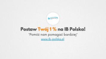 Miniatura Postaw swój 1% na IB Polska - Pomóż nam pomagać bardziej!