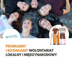 Miniatura Promujemy wolontariat  międzynarodowy i lokalny