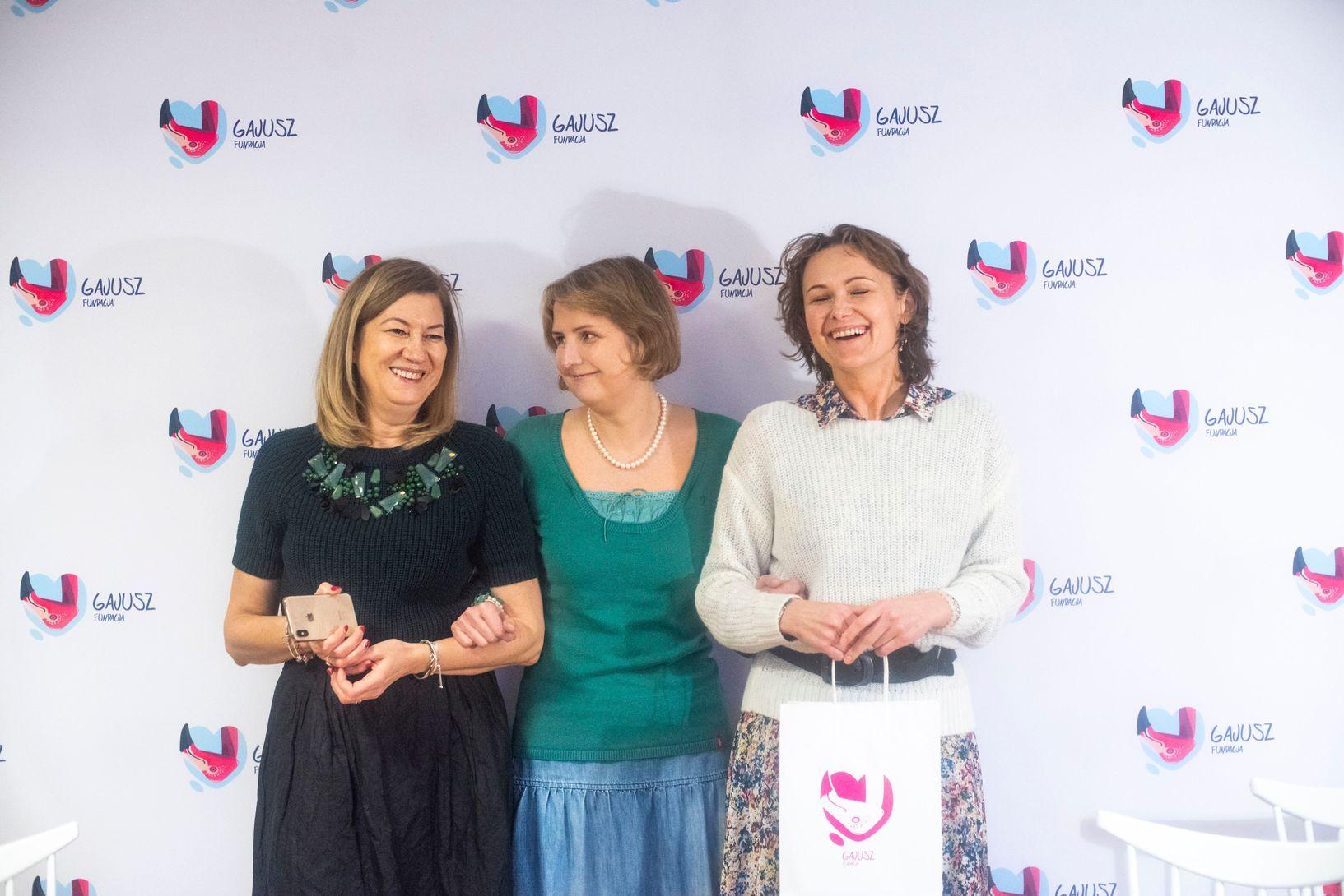 Od lewej: Anna Piekutowska, Tisa Żawrocka-Kwiatkowska, Anna Rajska-Rutkowska