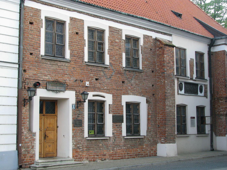 Główna siedziba Towarzystwa Naukowego Płockiego przy pl. Narutowicza 8 w Płocku. Budynek z XV wieku znajdujący się na szlaku gotyku ceglanego