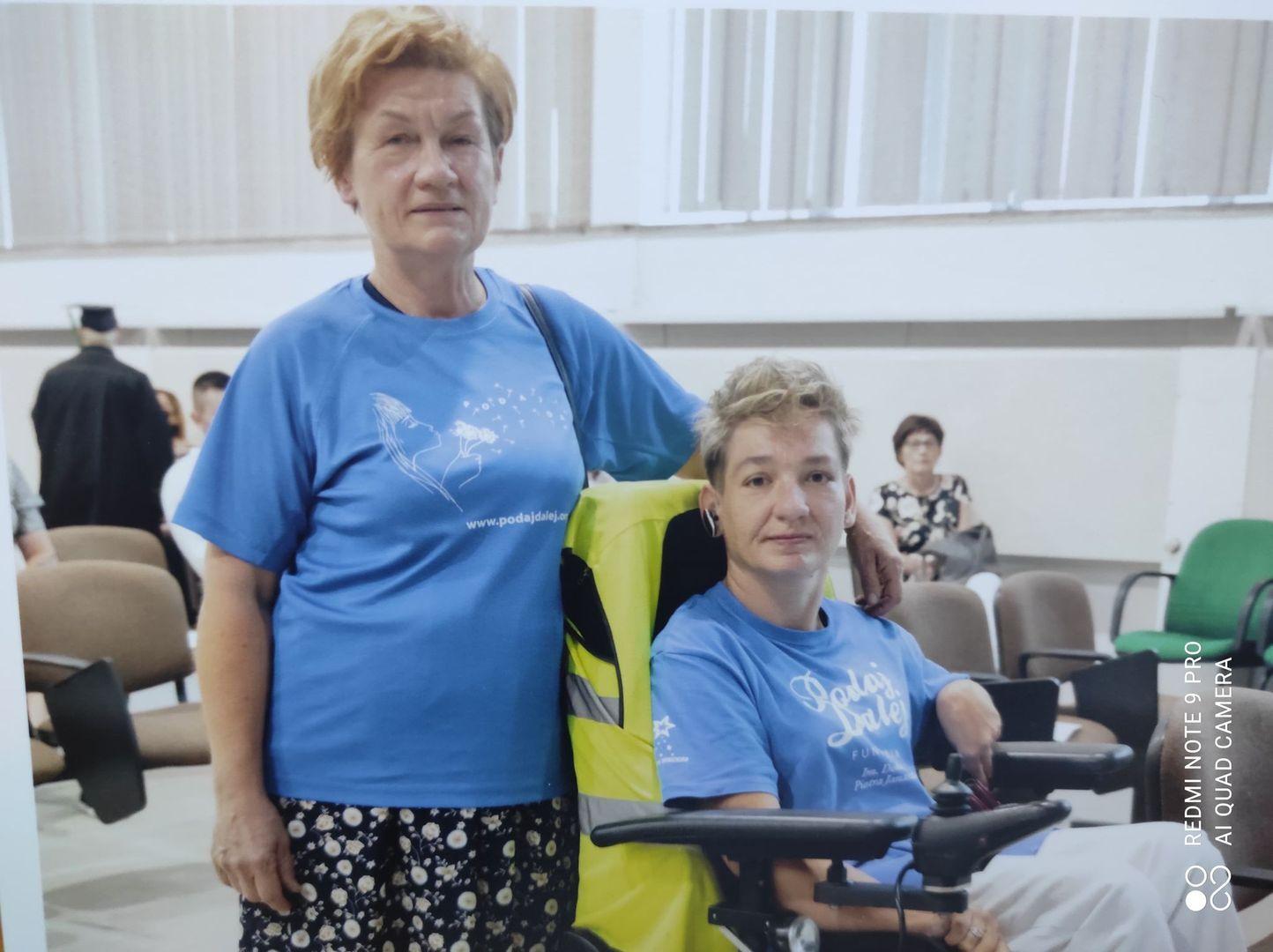 Małgorzata z córką Joasią