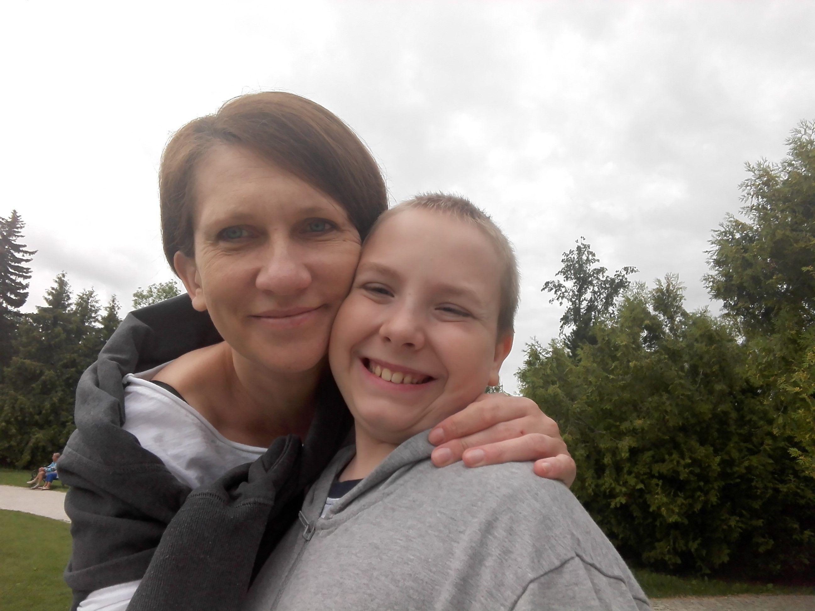 Anna Łukowczyk z Rybnika od roku choruje na potrójnie ujemnego raka piersi.
