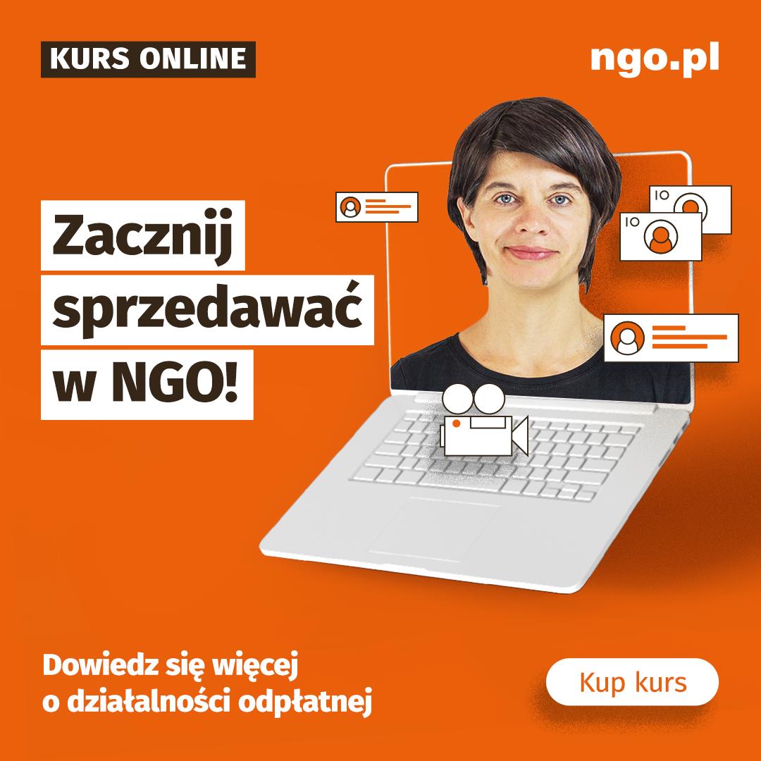 Jak NGO może sprzedawać swoje usługi i produkty [kurs]