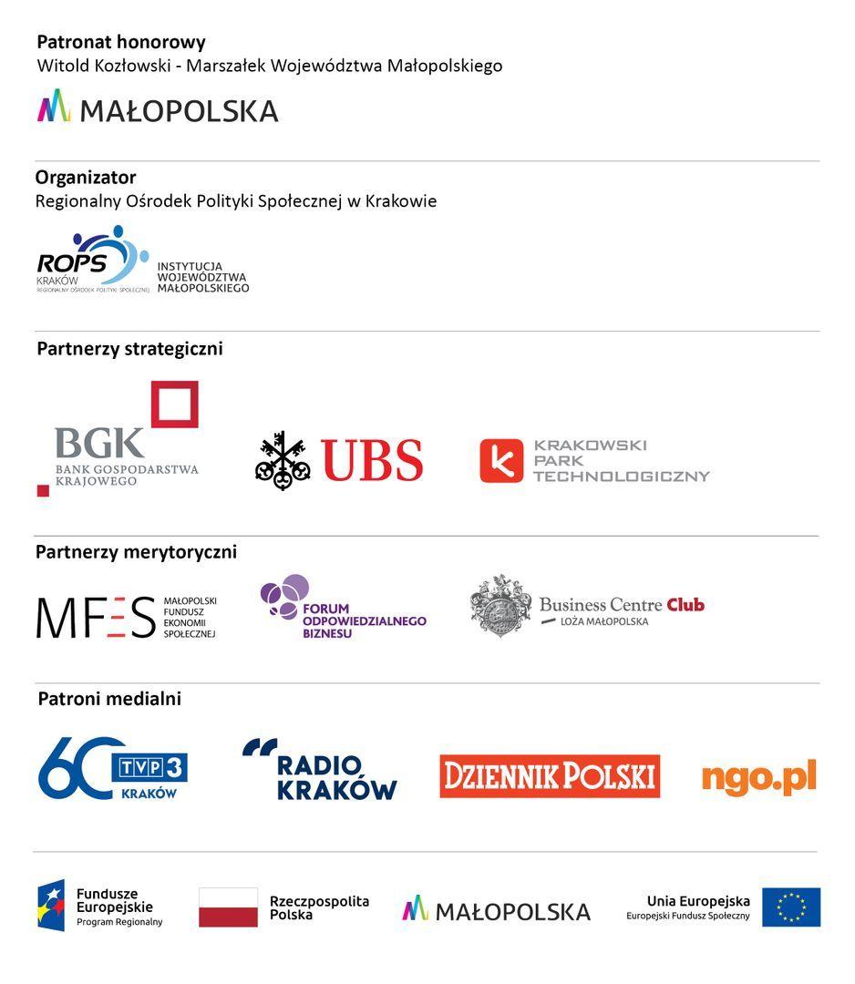 Dzięki współpracy z naszymi Partnerami Strategicznymi: Bankiem Gospodarstwa Krajowego, Firmą UBS oraz Krakowskim Parkiem Technologicznym, Laureaci Konkursu otrzymają nagrody finansowe oraz rzeczowe. Pula nagród w Konkursie wynosi powyżej 40 000 zł!