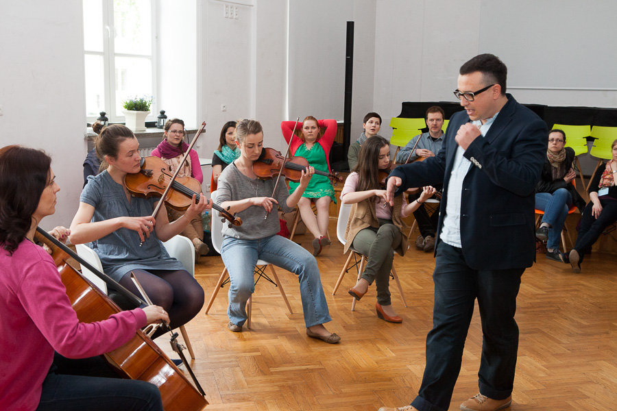 Seminarium gordonowskie Miłosz Gawryłkiewicz, Dina Alexander w Warszawie