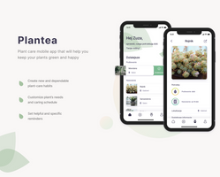 Miniatura Projekt aplikacji mobilnej ułatwiającej opiekę nad roślinami.