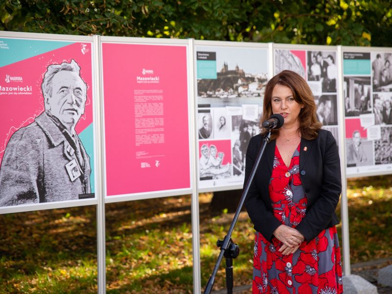 Aldona Machnowska-Góra, zastępczyni prezydenta, przewodnicząca Kapituły Nagrody