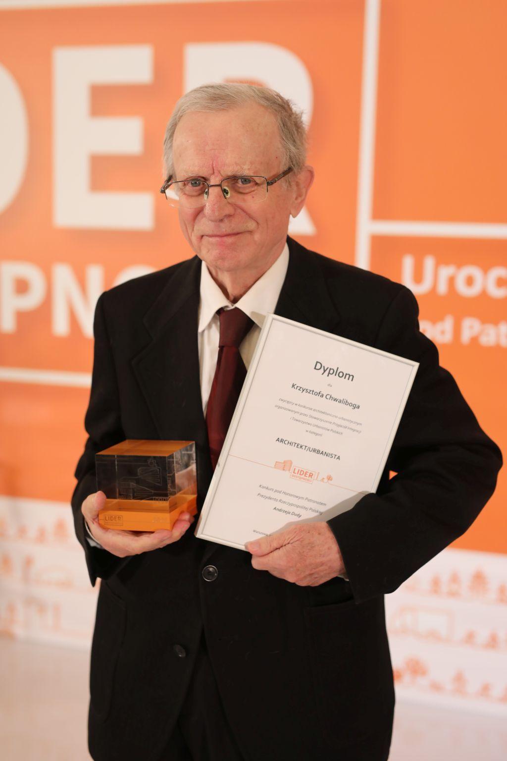 Lider Dostępności2021, Gala. Krzysztof Chwalibóg