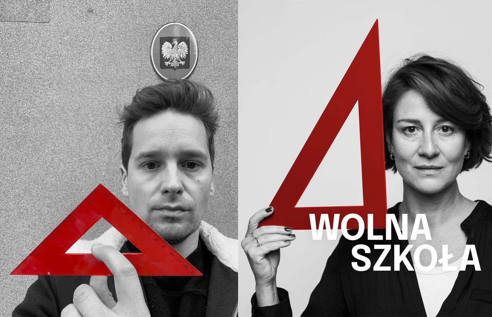 Kampanię Wolna Szkoła wsparli m.in. Krzysztof Zalewski i  Maja Ostaszewska