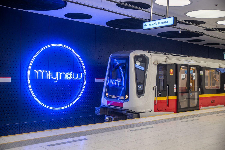 Stacja metra Młynów