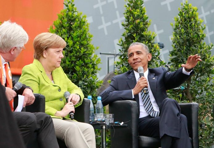 Obama, Merkel And The 'Never Again' Association At Kirchentag ...